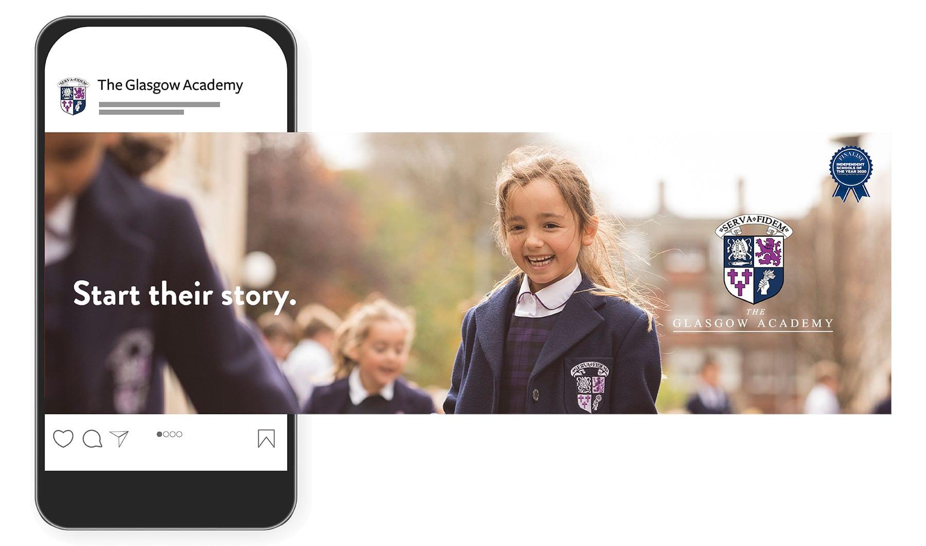Start their Journey Glasgow Academy